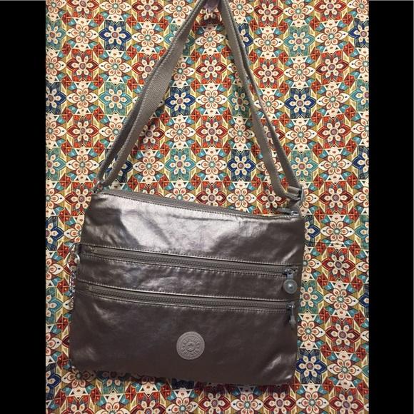 Kipling Handbags - Kipling's 5  Zipper Coated Nylon Crossbody Bag